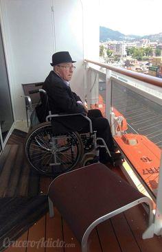 viajando con silla de ruedas en un crucero