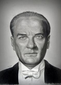 Mustafa Kemal Ataturk by ercansebat.devian on – En Güncel Araba Resimleri Face Sketch, Sketch Notes, Political Views, Great Leaders, Art Drawings, Drawing Art, Revolutionaries, Glamour, Deviantart