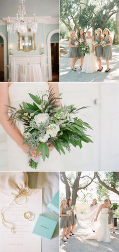 Classic Lowndes Grove Plantation Wedding - Style Me Pretty Sage Bridesmaid Dresses, Wedding Styles, Wedding Ideas, Style Me, Table Decorations, Classic, Pretty, Flowers