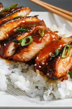 NYT Cooking: Teriyaki is derived from the Japanese root words <i>teri</i>, to shine, and <i>yaki</i>, to broil or grill. That's the way traditional teriyaki looks: shiny and incised with grill marks. In Japan, teriyaki is a mix of soy sauce, sake and the rice wine mirin, which imparts a subtle sweetness. The teriyaki found throughout Seattle, of which this is an adaptation, is a bit%...