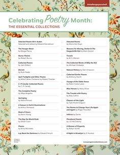 #challengeyourshelf with our #NationalPoetryMonth reading challenge!