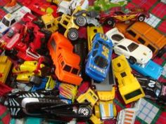 You had quite a Match box car collection ! You played hours with them! Rb