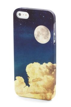 The Easiest Way To Update Your Outfit? Start With Your Phone  #refinery29  http://www.refinery29.com/cool-iphone-case#slide-6  Do you want the moon?