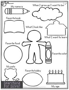 coloring Page Klassenlehrer Pinterest School English and