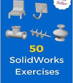 50 Solidworks Exercises: Learn By Doing free ebook Mechanical Engineering Design, Mechanical Design, Industrial Engineering, Autocad, Solidworks Tutorial, Isometric Drawing, Autodesk Inventor, Cad Software, Business Invitation
