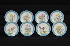 Set de Sobremesa em porcelana Inglesa Royal Worcester do sec.19th, circa 1890, 24cm de diametro, 10,500 EGP / 3,980 REAIS / 1,220 EUROS / 1,385 USD https://www.facebook.com/SoulCariocaAntiques