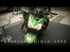 Kawasaki NInja Z900 & 300 | First look and exhaust sound