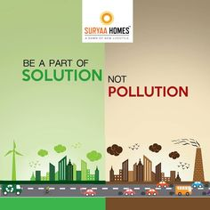 solution of environmental pollution