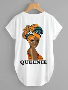 Afrocentric Short Sleeve Tee and Kente Print Pants Lightweight Fabric is available in Small, Medium, Wide and Extra Large. Sizes are unisex Can be purchased separately. Changes are allowed; Please send an email to confirm what you would like written African Shirts, African Print Dresses, African Dress, African Fashion Ankara, African Print Fashion, Latest African Fashion Dresses, African Attire, African Wear, Natural Hair Shirts