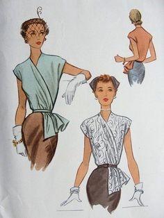 Картинки по запросу vintage blouse tutorial