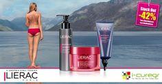 Τώρα, βρείτε όλη τη σειρά Lierac Body-Slim με έκπτωση -42%*έως εξαντλήσεως των αποθεμάτων http://www.i-cure.gr/search?search=lierac+body+slim