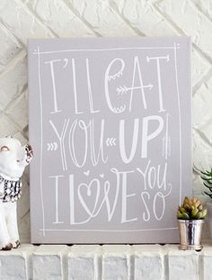 I'll Eat You Up I Love You So :: Where the Wild Things Are Storybook Nursery Inspration