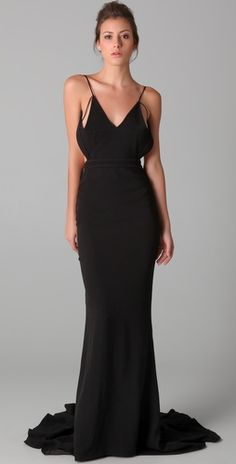 hakaan dress-- only available in sizes 10 and 12... not that I need a ballgown right now.