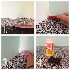DIY Countertop Revival using contact paper -- Rental Revival