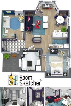 Are you an interior designer or decorator curious about RoomSketcher? Here's how it works: http://www.roomsketcher.com/interiordesign-en001/ #interiordesign #onlineinteriordesign #interiordecorating #homestaging