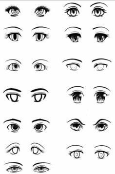 Глаза как их рисовать