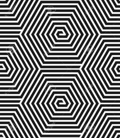 Hexagons Texture Seamless Geometric Pattern Vector Illustration ...