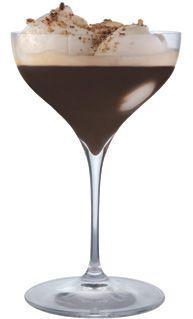Ooh la la......coffee; vanilla bean ice cream and Frangelico....I have to sit down.....