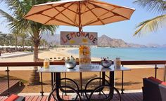 Oman | Sipping Lemonade on the Beach. credit: Al Bustan Palace, a Ritz-Carlton Hotel. see on Fb https://www.facebook.com/SinbadsOmanPocketGuide #Oman #hotels #travel #myOman #TravelToOman