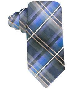 John Ashford Bryant Plaid Tie