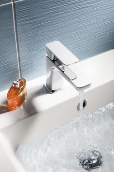 Atoll Basin Monobloc Tap from Crosswater. http://www.crosswater.co.uk/category/atoll/