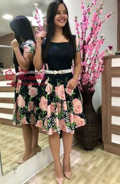 VESTIDOS - Floratta Modas Modest Fashion, Fashion Dresses, Ankara Gown Styles, Dress Making Patterns, Teen Girl Outfits, Special Dresses, Church Outfits, Cute Skirts, Dress And Heels