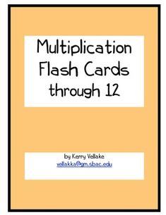 multiplication flash cards 1 12 multiplication fun games and cards. Black Bedroom Furniture Sets. Home Design Ideas