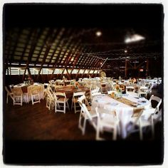 Barn and burlap design by Enchanting Special Events