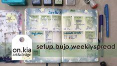 setup bulletjournalweeklylog 39/2020