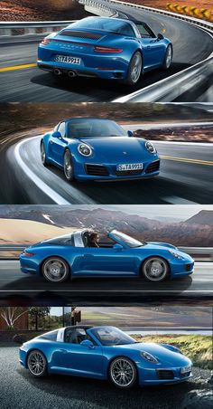 With the new 911 Targa 4S the all-wheel drive marries excellent traction with excellent aesthetics. Learn more: http://link.porsche.com/911-pin-gallery