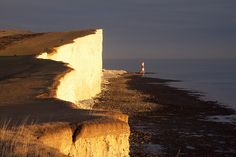 Beachy Head Sunset by JamboEastbourne, via Flickr