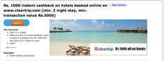Exclusive Discounts on Hotel Bookings Through Cleartrip