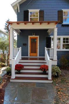 Awesome Small Front Porch Design Ideas (11