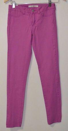 JOE'S Jeans Girl's Women's stretch Mid Rise Jegging  Fucsia Pink Size 14 #JoesJeans #SlimSkinny