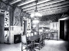 Casa Vicens / Cabinet-work / Dining room