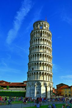 The Leaning Tower of Pisa in Italy. wait, Italy, right?