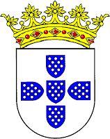 Brasão de Armas de D. Sancho I a D. Sancho II Raro a representação com a coroa, mas se assim fôsse seria uma coroa aberta (ou ducal) de cinco florões visíveis e três invisíveis, em arco). heraldica-real-portuguesa.blogspot.pt