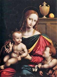 Giampietrino, possibly Giovanni Pietro Rizzoli (active 1495–1549), Madonna and Child 1520s