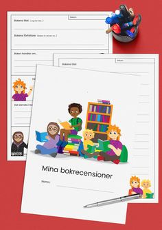 Alla barn är superhjältar - tillsammans mot målen! Swedish Language, Language And Literature, Montessori Materials, Second Language, Back To School, Writing, Education, Math, Reading