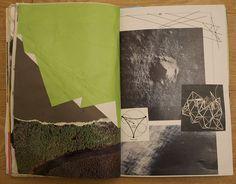 love the folds in the green paper. (Kaitlin Ferguson)