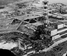 Chernobyl Disaster Picture - 1986