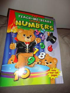 The Teach Me Bears Learn Numbers book find me at www.dandeepop.com