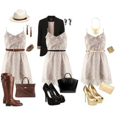 1 Cute Dress = 3 amazing outfits!