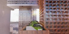 Gallery of Cross # Towers / BIG - 7