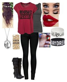 """Tag! Day w/ One Direction"" by loney5400 ❤ liked on Polyvore featuring 2LUV, Sally&Circle, Bling Jewelry, Topshop and Forever 21"