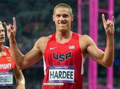 Hook em Silver Trey Hardee! Olympics 2012 Decathlon