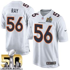 Packers Bart Starr 15 jersey Nike Broncos  56 Shane Ray White Super Bowl 50  Men s 75c3f3d07