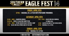 Southern Miss fans, it is time for Spring Football. Come enjoy the Spring Football game and Future Golden Eagles Camp Saturday April 19th. Then stick around for a free Carnival on Pride Field.