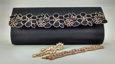 Diy Clutch, Clutch Purse, Embellished Purses, Lace Bag, Clutch Pattern, Diy Hair Bows, Purse Patterns, Cute Bags, Bag Making