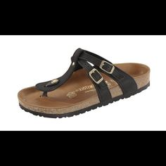 ISO Birkenstock NOT selling...I am looking for any of these! Adana or Almere Birkenstocks with gold accents. Or Tatami style. Need a euro size 38. Please message me if you have. Shoes Sandals